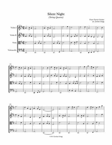 Silent Night (String Quartet)
