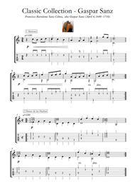 Gaspar Sanz Medieval and Renaissance Guitar