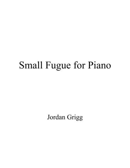 Small Fugue for Piano