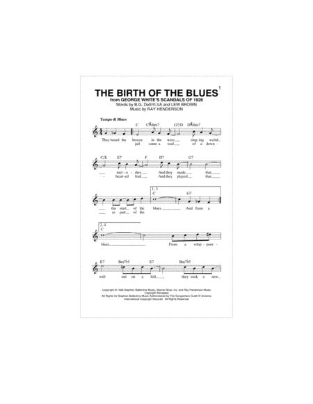 The Birth Of The Blues