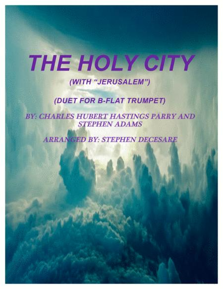 The Holy City (with Jerusalem) (Duet for Bb-Trumpet)