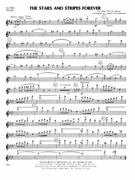 The Stars and Stripes Forever - 1st Flute