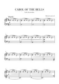 Carol of The Bells - Easy-Intermediate piano