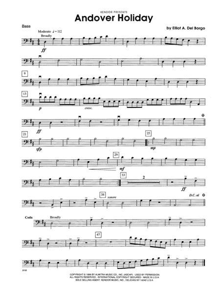 Andover Holiday - Bass