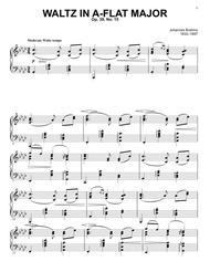 Waltz in A-flat major, Op. 39, No. 15