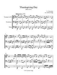 Thanksgiving Day (Brass Trio)