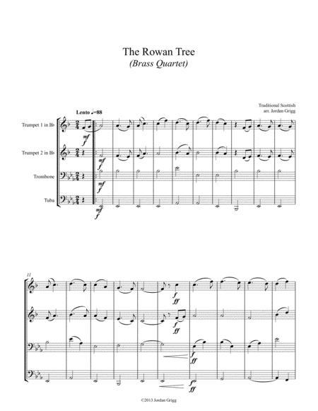 The Rowan Tree (Brass Quartet)
