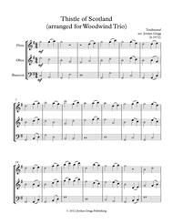 Thistle of Scotland (arranged for Woodwind Trio)