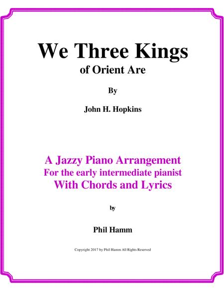 Download We Three Kings Of Orient Are Sheet Music By John Henry