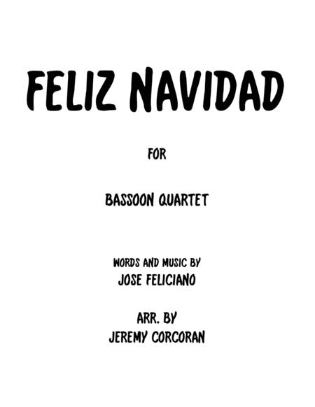Feliz Navidad for Bassoon Quartet