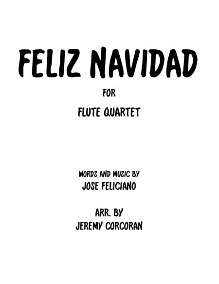 Feliz Navidad for Flute Quartet
