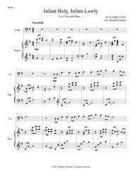 Infant Holy, Infant Lowly (cello/piano), arr. Brenda Portman