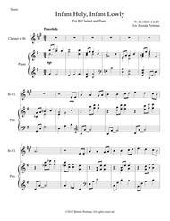 Infant Holy, Infant Lowly (clarinet/piano), arr. Brenda Portman