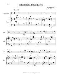 Infant Holy, Infant Lowly (euphonium/piano), arr. Brenda Portman
