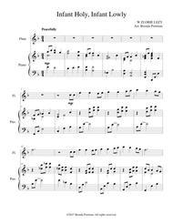 Infant Holy, Infant Lowly (flute/piano), arr. Brenda Portman