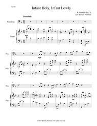 Infant Holy, Infant Lowly (trombone/piano), arr. Brenda Portman