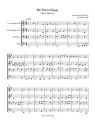 We Three Kings (Brass Quartet)