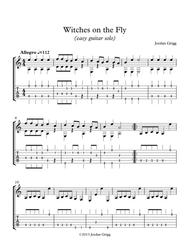 Witches on the Fly (easy guitar solo)