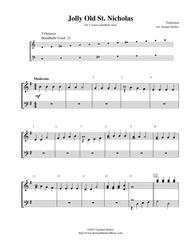 Jolly Old St. Nicholas - for 3-octave handbell choir