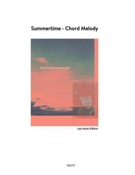 Summertime - Jazz Guitar Chord Melody