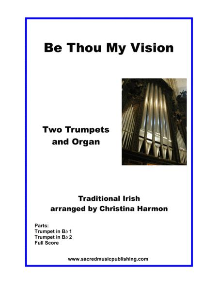Be Thou My Vision - Two Trumpets and Organ