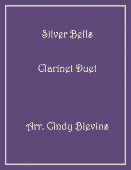 Silver Bells, arranged for Bb Clarinet Duet