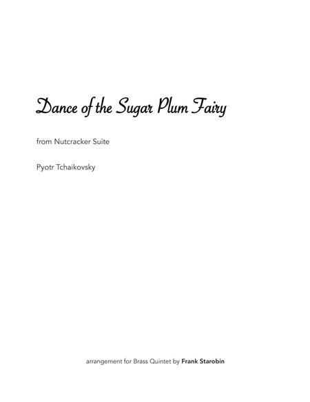Dance of the Sugar Plum Fairy for Brass Quintet