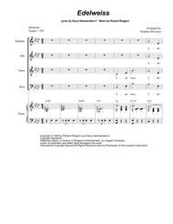 Edelweiss (for Vocal Quartet - SATB)