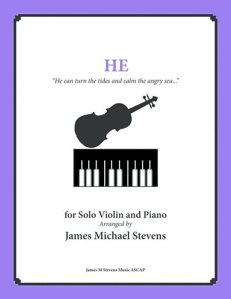 He - Inspirational Music - Violin & Piano