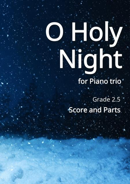 O Holy Night for Piano trio