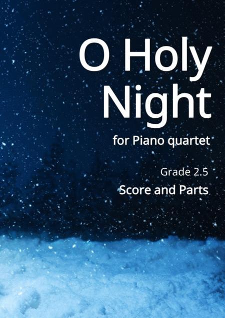 O Holy Night for Piano quartet