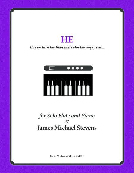 He - Inspirational Music - Flute & Piano