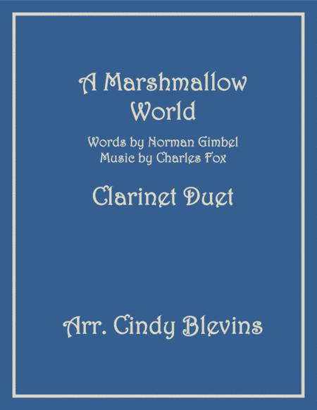 A Marshmallow World, arranged for Bb Clarinet Duet