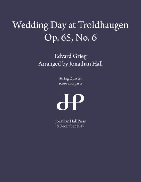 Grieg: Wedding Day at Troldhaugen