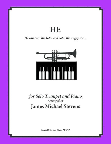 He - Inspirational Music - Trumpet & Piano