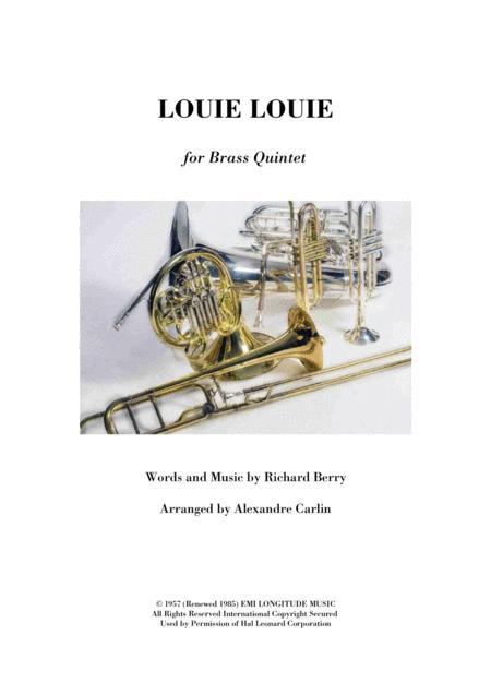 Louie, Louie - Brass Quintet