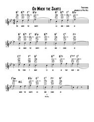 When the Saints Go Marching In (Ukelele Chord-Melody Solo)
