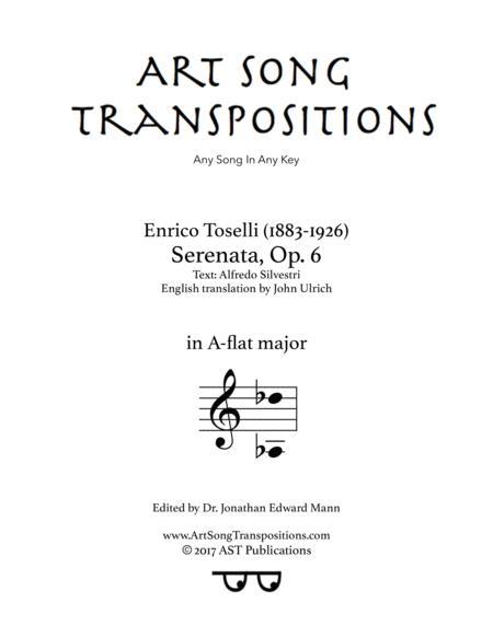Serenata, Op. 6 (A-flat major)