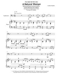 Aretha Franklin: (You Make Me Feel Like) A Natural Woman for Euphonium & Piano