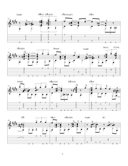 Preview Isnt She Lovely Solo Jazz Guitar By Stevie Wonder H0