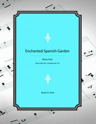 Enchanted Spanish Garden - original piano solo