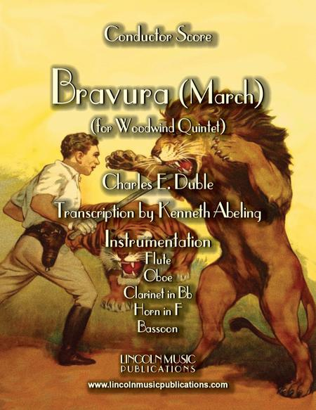 "March – ""Bravura"" (for Woodwind Quintet)"