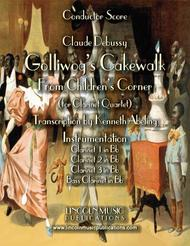 Debussy – Golliwog's Cakewalk from Children's Corner (for Clarinet Quartet)