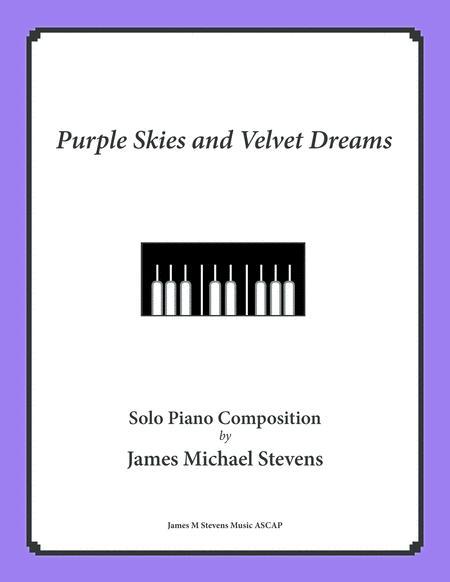 Purple Skies and Velvet Nights - Romantic Piano