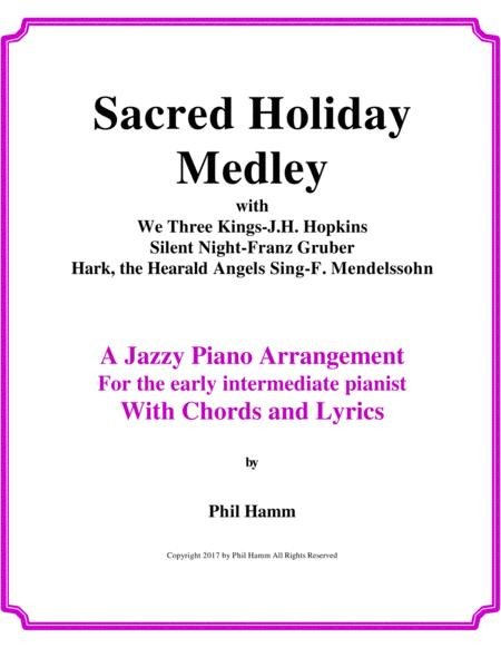 Download Sacred Holiday Medley Sheet Music By Hopkins Gruber