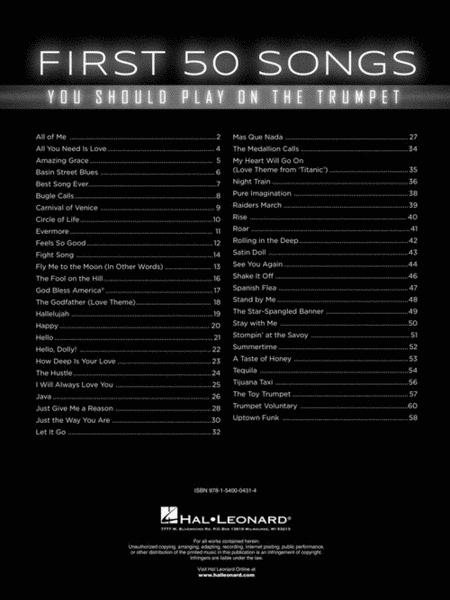 Preview First 50 Songs You Should Play On The Trumpet By