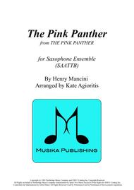The Pink Panther - Saxophone Ensemble