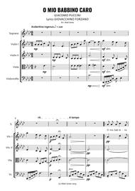 O Mio Babbino Caro for Soprano and String Quartet