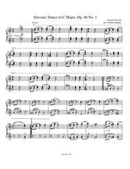 Dvorak Slavonic Dance C Major, Op 46 No. 1