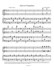 Duet for 4 Grapefruits Piano Duet (1 Piano 4 Hands)
